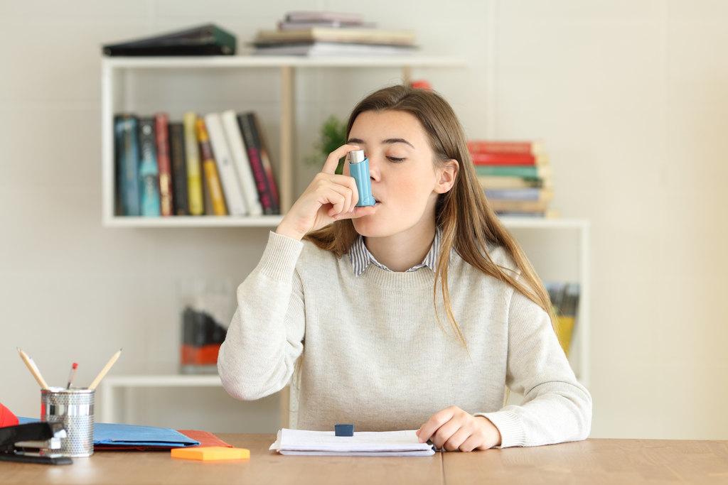 8 orientações para lidar com uma crise de asma