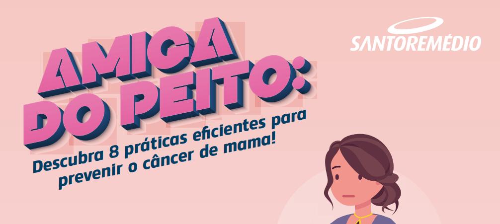 campanha amigas do peito para combate ao câncer de mama