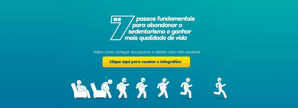 Banner Infográfico Sedentarismo