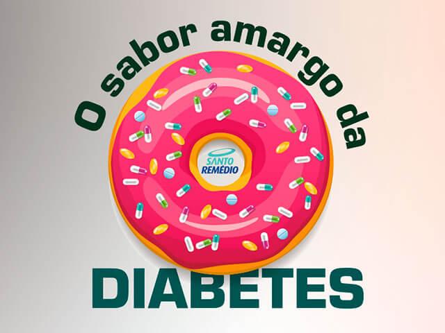 o sabor amargo da diabetes