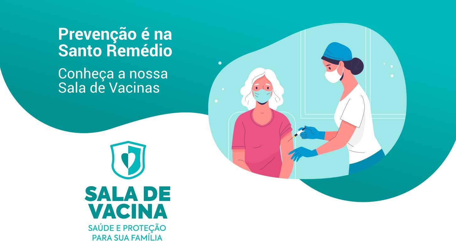 Banner para sala de vacinas - serviço